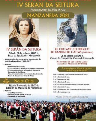 XII Certame Celtibérico de Bandas de Gaitas se celebrará este fin de semana en la cumbre de la Estación de montaña de Manzaneda.
