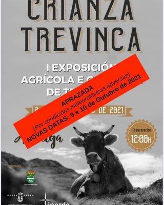 📢Aplazada!!Exposición Agrícola e Gandeira de Trevinca en Concello da Veiga para los días 9 y 10 de octubre.  📢Aprazada!! Exposición Agrícola e Gandeira de Trevinca  no Concello da Veiga para os días 9 e 10 de outubro.