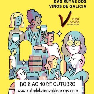 🍇Vuelven un año más las Xornadas de Puertas Abiertas de las Rutas de los Vinos de Galicia!  Participa en su X edición y descubre entre los días 8️⃣ y 1️⃣0️⃣ de octubre la #rutadoviñovaldeorras.  ¡Anota esta fecha en tu agenda y disfruta de una experiencia única con los vinos de #Valdeorras!  Más información en www.rutadelvinovaldeorras.com  #xornadasdeportasabertas #xornadasrutasdosviñosdegalicia  🍇Volven un ano máis as  Xornadas de Puertas Abertas dos Rutas dos Viños de Galicia!  Participa na súa X edición e descobre entre os días 8️⃣ e 1️⃣0️⃣ de outubro a # rutadoviñovaldeorras.  Anota esta data na túa axenda e goza dunha experiencia única cos viños de #Valdeorras!  Máis información en www.rutadelvinovaldeorras.com